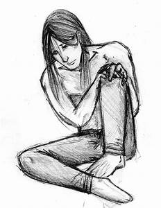 feeling sad and lonely by CursedFreak on DeviantArt