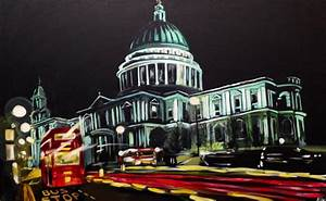 Painting of St Paul's London | Angela Wakefield