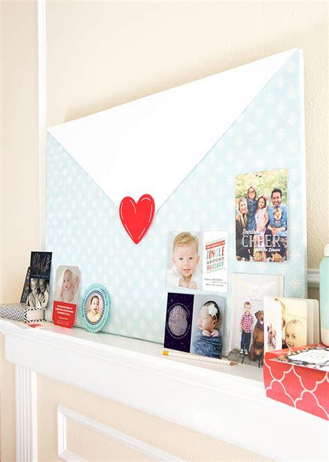 display  holiday cards fabric cork board julep