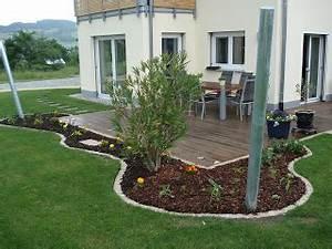 Kleinen Vorgarten Gestalten : bauen mit den brachats letzte arbeiten am blumenbeet ~ Frokenaadalensverden.com Haus und Dekorationen