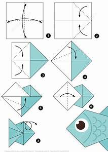 How To Make An Origami Fish Step By Step Instructions