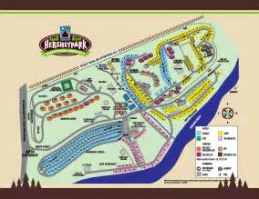 Hershey Park Camping Map