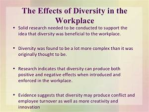 Essay On Diversity In The Workplace. Essay on Diversity in ...