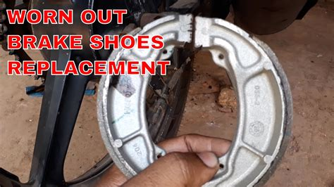 How To Replace Brake Shoes Of Motorcycle (drum Type