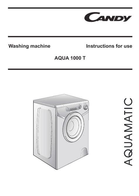 lave linge en anglais aquamatic 1000t mode d emploi notice d utilisation manuel utilisateur t 233 l 233 charger