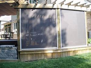 Keep The Sun In And The Bugs Out With Retractable Screens