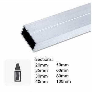 T Profil Alu : barre de tube rectangulaire en aluminium sur mesure ~ Frokenaadalensverden.com Haus und Dekorationen