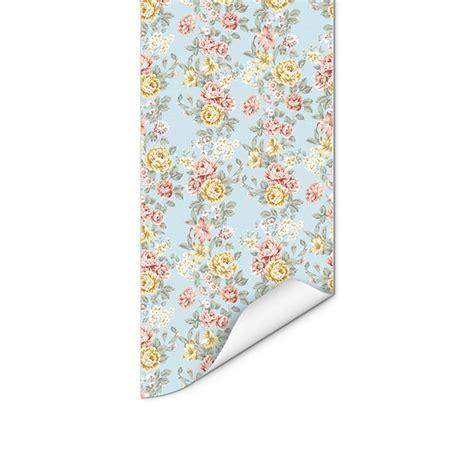 papel de parede floral 45 elo7