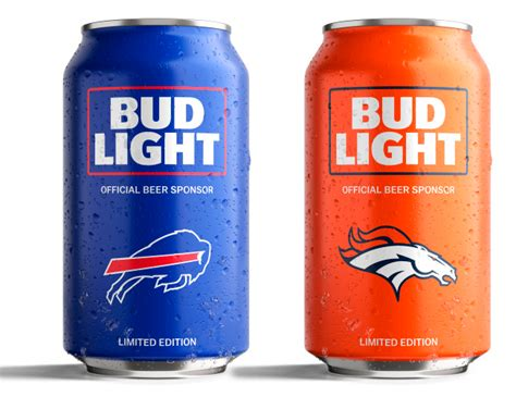 bud light football cans bud light s popular nfl team cans are back with a new