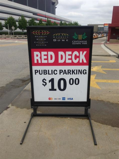 Gwcc  Red Deck  Parking In Atlanta Parkme