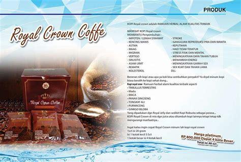 msi royal crown coffee msi peluang bisnis fenomenal abad ini