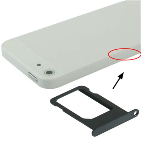 original sim card tray holder  iphone  black