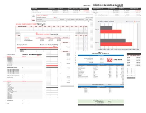 Free Small business budget template for Excel (Google Docs)