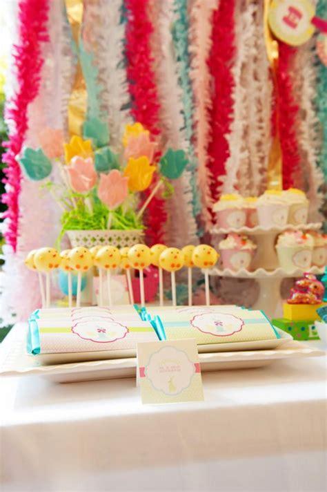 Kara's Party Ideas Classic Pastel Boy Girl Easter Bunny