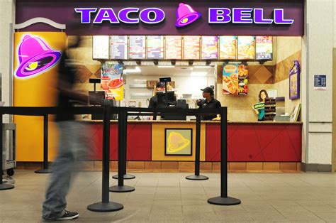 Does taco bell have gift cards. BX shows off new food court
