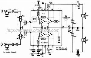 electronic circuit componnent data lesson and etc With small stereo amplifier for computer with tda7025