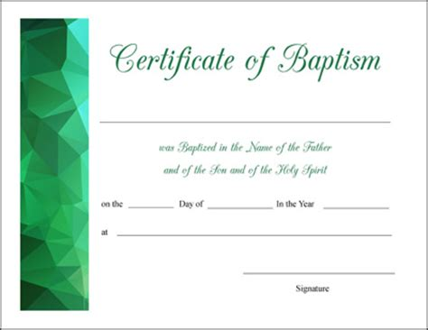 Baptism Certificate Template Free by Communion Certificate Template Blank Baptism