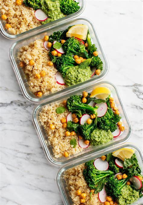 healthy meal prep ideas love  lemons