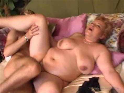 Astonishing Busty Blonde Granny With Nice Ass Fucked In