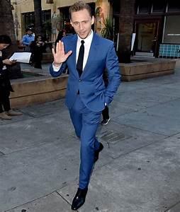 Blauer Anzug Schwarze Krawatte : pin by lookastic on oxfords brogues and loafers suits mens suits men dress ~ Frokenaadalensverden.com Haus und Dekorationen