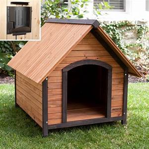precision outback country lodge dog house with heater With hayneedle dog house