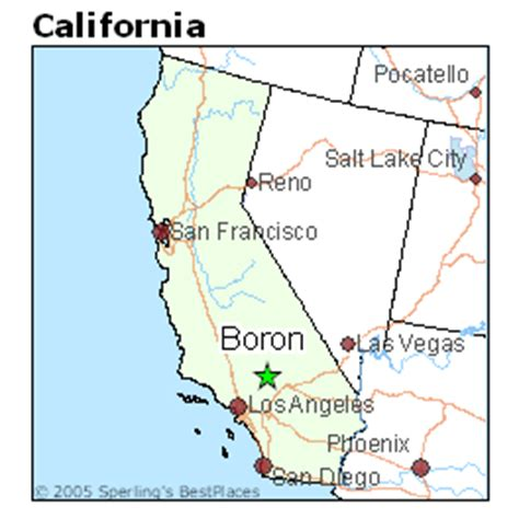 places    boron california