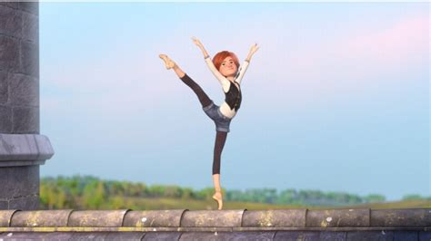 film review ballerina unremarkable animated feature  orphan girl  dreams  joining