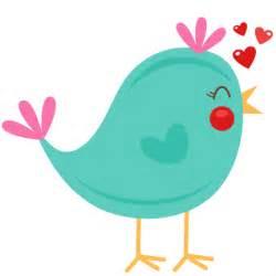 Cute Valentine Bird Clip Art
