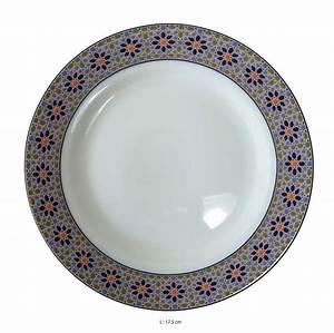 Vaisselle En Porcelaine : assiette porcelaine blanche ~ Teatrodelosmanantiales.com Idées de Décoration