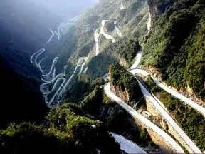 China Tianmen Mountain Road