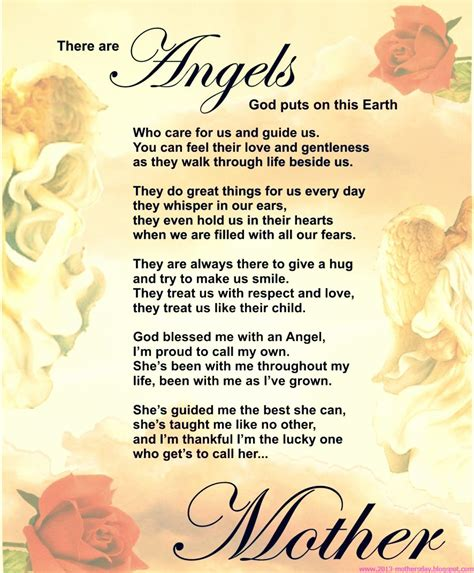 a mothers day poem mothers day poems from daughter and son picsy buzz