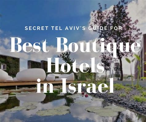 best hotels in israel top hotels in israel secret tel aviv