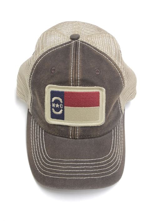 North Carolina Flag Trucker Hat_____ - Design Archives