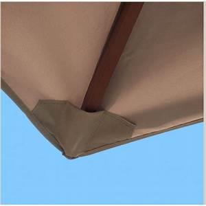 Toile De Rechange Pour Parasol Déporté : toile de parasol rectangulaire toile parasol ~ Dailycaller-alerts.com Idées de Décoration