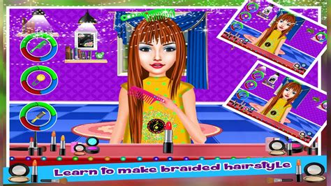 Braided Hairstyles Salon Girls Games For Android