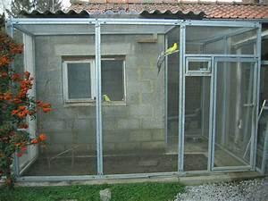 Fabrication D Une Voliere Exterieur : cage oiseaux exterieur fashion designs ~ Premium-room.com Idées de Décoration