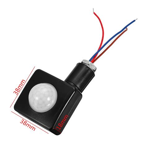 Security Pir Infrared Motion Sensor Led Light Detector