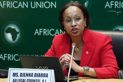 commission de l union africaine mme djeneba diarra premiere femme nommee secretaire general