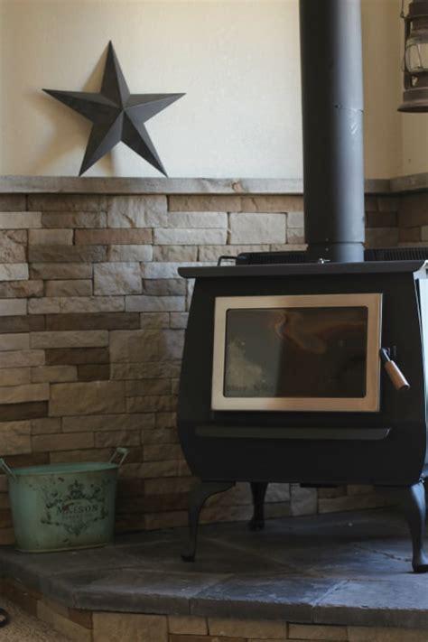 diy wood stove installation  prairie homestead