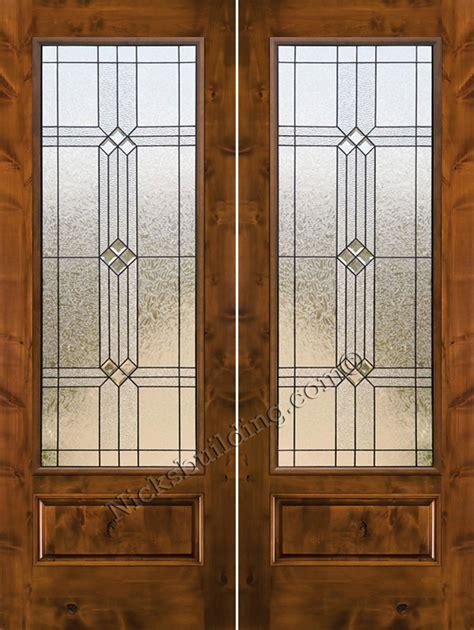knotty alder exterior doors