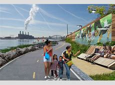 See the South Bronx Waterfront's Green, ParkFilled Future