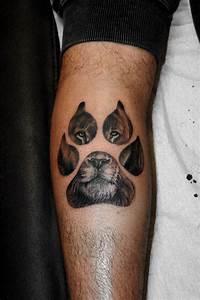 Orma con il muso del leone ⋆ Mara Tattoo Studio