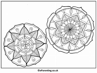Colouring Mandalas Mandala Printable Adult Printables
