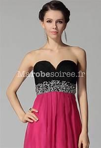 robe de bal au bustier tres plongeant avec strass bicolore With robe longue pour mariage pas cher