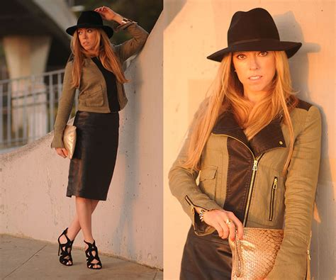 H&m Leather Pencil Skirt, Zara Strappy High