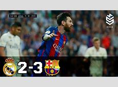Real Madrid vs Barcelona 23 All Goals and Full Highlights