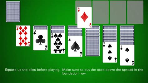 how to play solitaire how to play klondike solitaire youtube