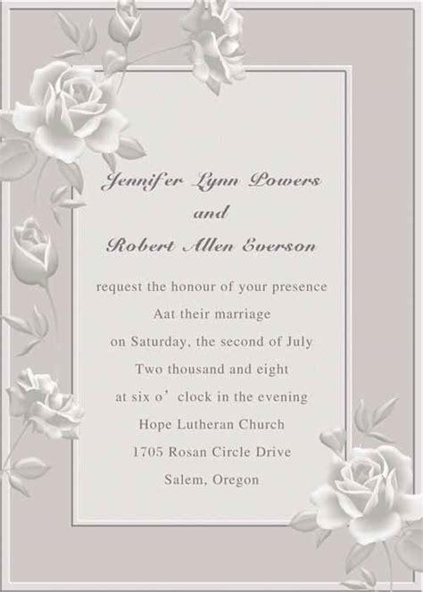 classy wedding invitations ideas wohh wedding