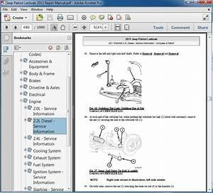Jeep Patriot Latitude 2011 Repair Manual
