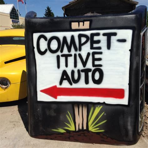 Boat Repair Shops In Salem Oregon by Competitive Auto Repair Home